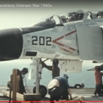 Aircraft Carrier Deck Operations Vietnam 1960s