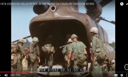 CH-47A Chinook in Vietnam 1st Cav