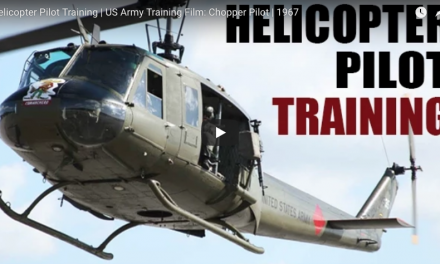 Helicopter Pilot Training | US Army Training Film: Chopper Pilot
