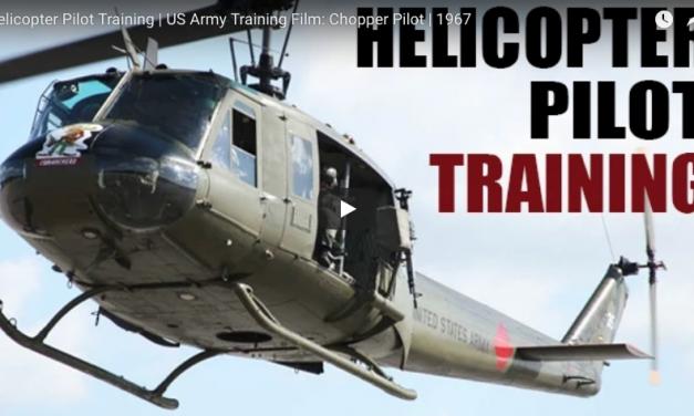 Helicopter Pilot Training | US Army Training Film: Chopper Pilot