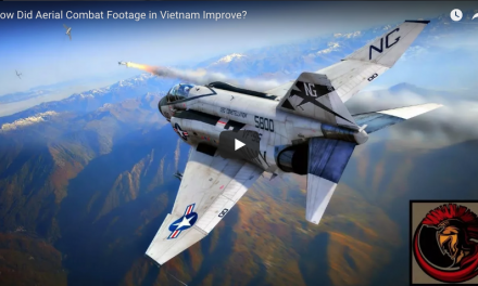 How did Aerial Combat Footage in Vietnam Improve?