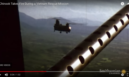 A Chinook Takes Fire During a Vietnam Rescue Mission