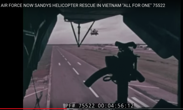 """Sandy's Helicopter Rescue in Vietnam """"All for one"""""""