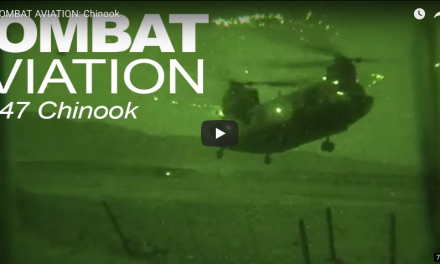 COMBAT AVIATION: Chinook