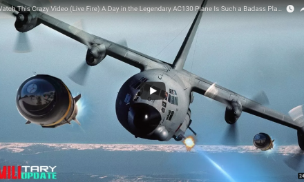 Live Fire: A Day in the Legendary AC130 (Such a Badass Plane)