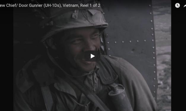 Crew Chief/Door Gunner (UH-1Ds) Vietnam