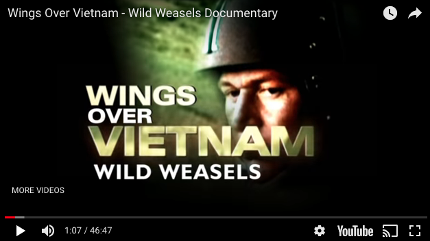 Wild Weasels Documentary – Wings Over Vietnam
