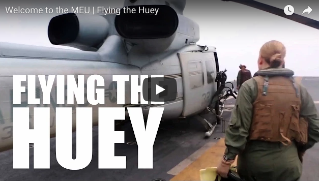 Flying the Huey | Welcome to the MEU