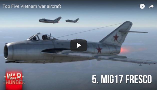 Top Five Vietnam Era Aircraft