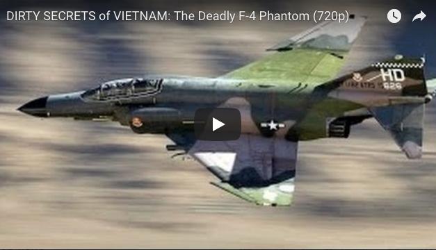 DIRTY SECRETS of VIETNAM: The Deadly F-4 Phantom