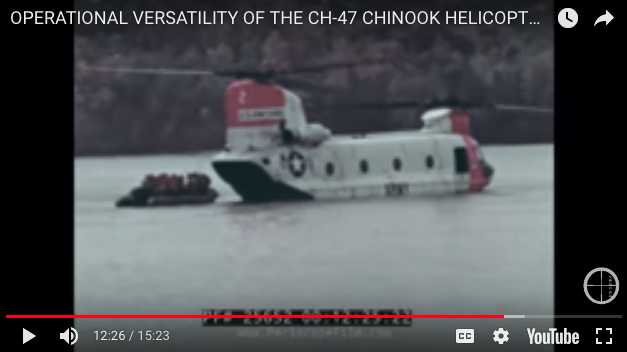 Operational versatility of the CH-47 Chinook Helicopter in Vietnam