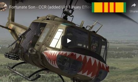 CCR: Fortunate Son – Huey Helicopter Footage